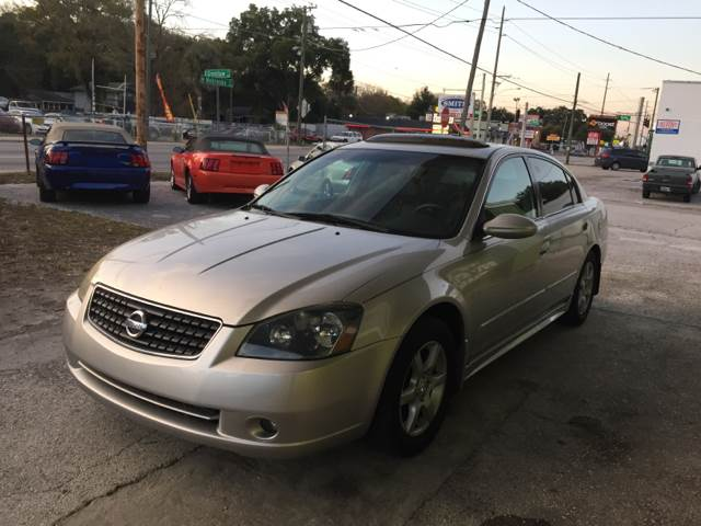 2005 Nissan Altima for sale at Blue Ocean Auto Sales LLC in Tampa FL