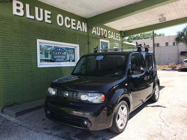 2010 Nissan Cube 18 S Krom Edition 4dr Wagon In Tampa Fl Blue