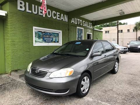 2007 Toyota Corolla for sale at Blue Ocean Auto Sales LLC in Tampa FL