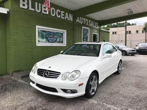 2005 Mercedes-Benz CLK for sale at Blue Ocean Auto Sales LLC in Tampa FL