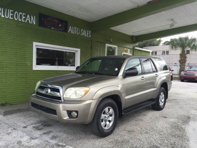 2007 Toyota 4Runner for sale at Blue Ocean Auto Sales LLC in Tampa FL