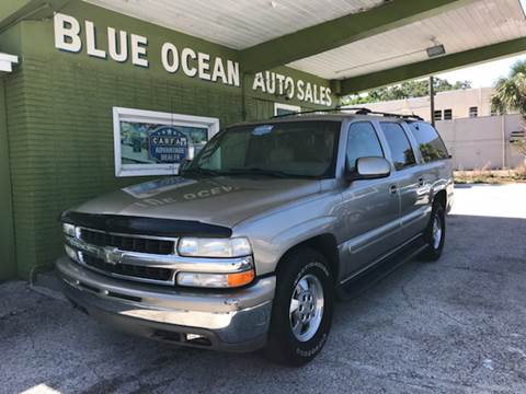 2001 Chevrolet Suburban for sale at Blue Ocean Auto Sales LLC in Tampa FL