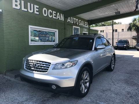 2003 Infiniti FX35 for sale at Blue Ocean Auto Sales LLC in Tampa FL