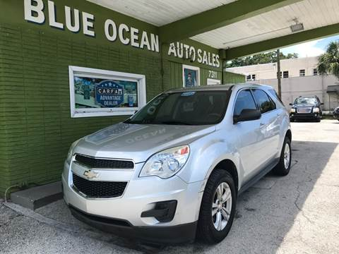 2012 Chevrolet Equinox for sale at Blue Ocean Auto Sales LLC in Tampa FL