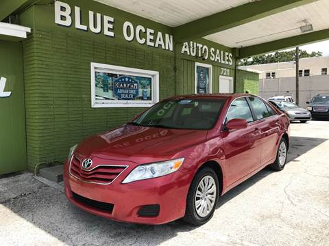2010 Toyota Camry for sale at Blue Ocean Auto Sales LLC in Tampa FL
