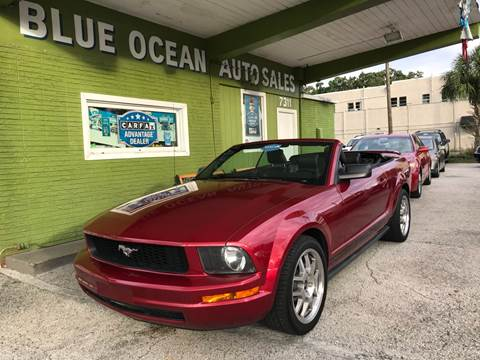 2005 Ford Mustang for sale at Blue Ocean Auto Sales LLC in Tampa FL