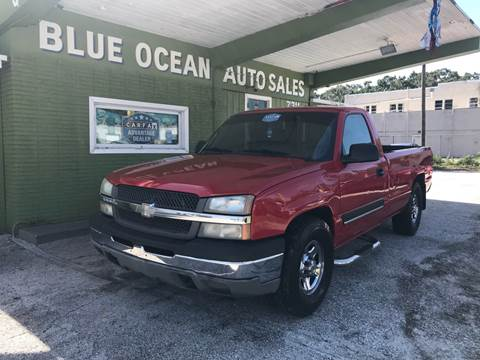 2004 Chevrolet Silverado 1500 for sale at Blue Ocean Auto Sales LLC in Tampa FL