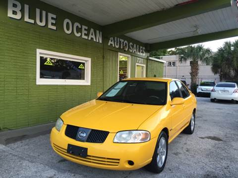 2006 Nissan Sentra for sale at Blue Ocean Auto Sales LLC in Tampa FL