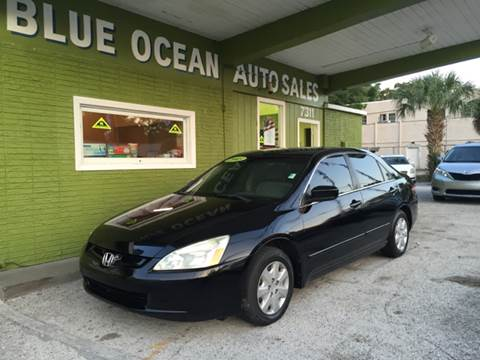 2003 Honda Accord for sale at Blue Ocean Auto Sales LLC in Tampa FL