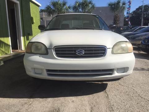 2002 Suzuki Esteem for sale at Blue Ocean Auto Sales LLC in Tampa FL