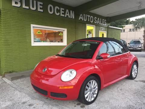 2008 Volkswagen New Beetle for sale at Blue Ocean Auto Sales LLC in Tampa FL