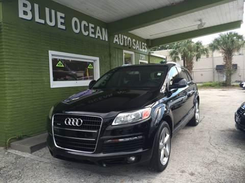 2009 Audi Q7 for sale at Blue Ocean Auto Sales LLC in Tampa FL