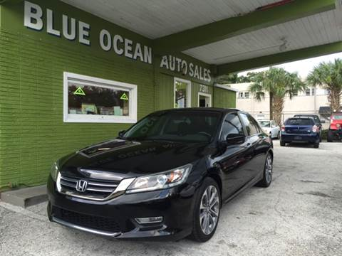 2013 Honda Accord for sale at Blue Ocean Auto Sales LLC in Tampa FL
