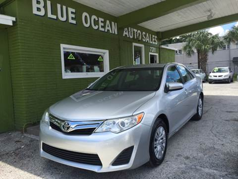 2012 Toyota Camry for sale at Blue Ocean Auto Sales LLC in Tampa FL