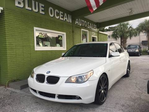 2007 BMW 5 Series for sale at Blue Ocean Auto Sales LLC in Tampa FL