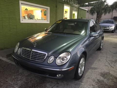 2003 Mercedes-Benz E-Class for sale at Blue Ocean Auto Sales LLC in Tampa FL