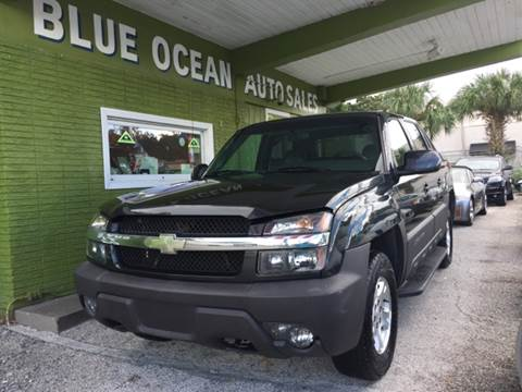 2003 Chevrolet Avalanche for sale at Blue Ocean Auto Sales LLC in Tampa FL