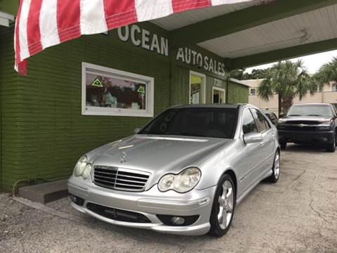 2007 Mercedes-Benz C-Class for sale at Blue Ocean Auto Sales LLC in Tampa FL