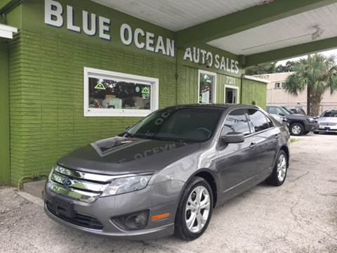 2012 Ford Fusion for sale at Blue Ocean Auto Sales LLC in Tampa FL