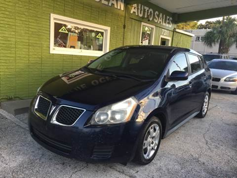 2009 Pontiac Vibe for sale at Blue Ocean Auto Sales LLC in Tampa FL
