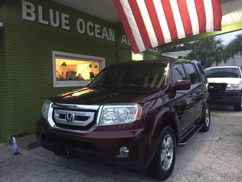 2009 Honda Pilot for sale at Blue Ocean Auto Sales LLC in Tampa FL