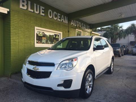 2013 Chevrolet Equinox for sale at Blue Ocean Auto Sales LLC in Tampa FL