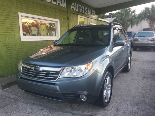 2009 subaru forester awd 2 5 x limited 4dr wagon 4a in tampa fl blue ocean auto sales llc. Black Bedroom Furniture Sets. Home Design Ideas