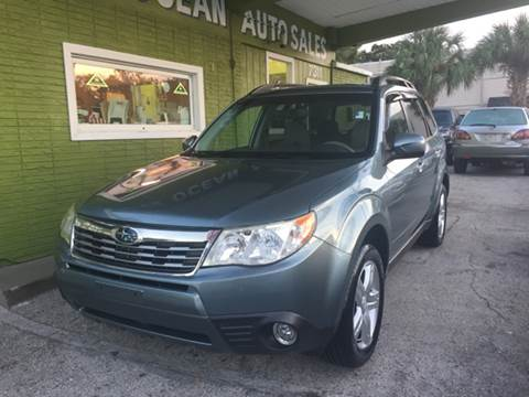 2009 Subaru Forester for sale at Blue Ocean Auto Sales LLC in Tampa FL