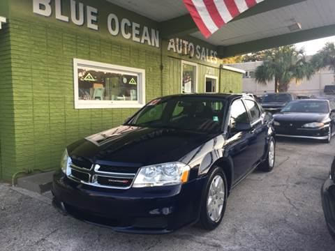 2014 Dodge Avenger for sale at Blue Ocean Auto Sales LLC in Tampa FL