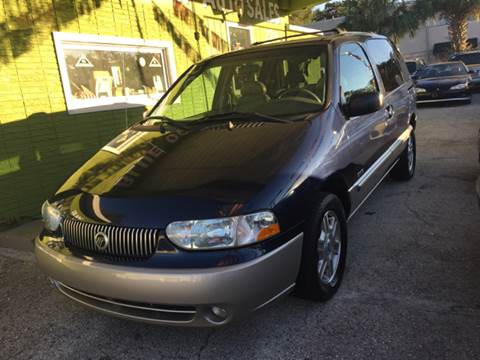 2002 Mercury Villager for sale at Blue Ocean Auto Sales LLC in Tampa FL
