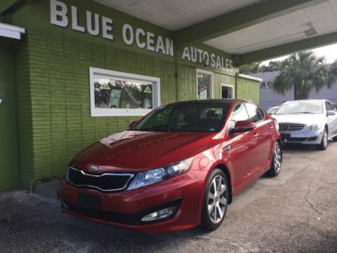 2012 Kia Optima for sale at Blue Ocean Auto Sales LLC in Tampa FL