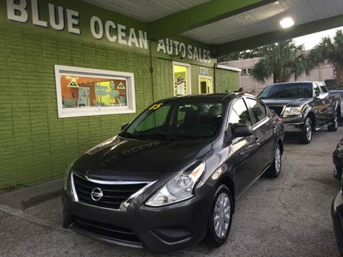 2015 Nissan Versa for sale at Blue Ocean Auto Sales LLC in Tampa FL