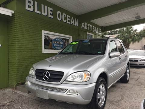 2004 Mercedes-Benz M-Class for sale at Blue Ocean Auto Sales LLC in Tampa FL