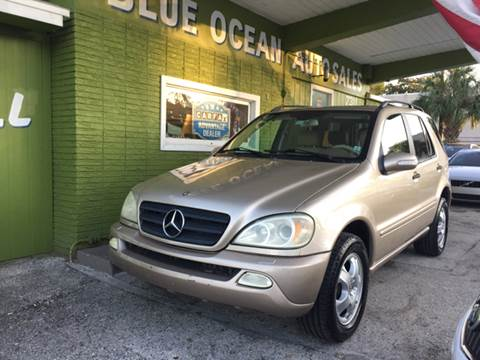 2003 Mercedes-Benz M-Class for sale at Blue Ocean Auto Sales LLC in Tampa FL