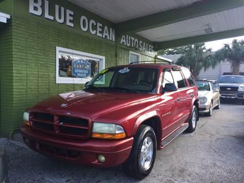 2001 Dodge Durango for sale at Blue Ocean Auto Sales LLC in Tampa FL