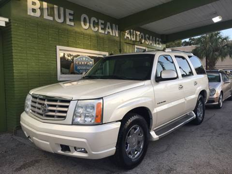 2005 Cadillac Escalade for sale at Blue Ocean Auto Sales LLC in Tampa FL