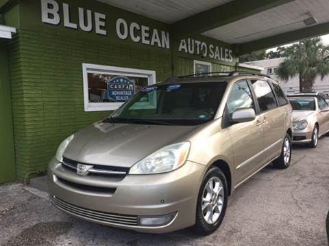 2005 Toyota Sienna for sale at Blue Ocean Auto Sales LLC in Tampa FL
