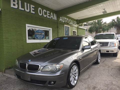 2008 BMW 7 Series for sale at Blue Ocean Auto Sales LLC in Tampa FL