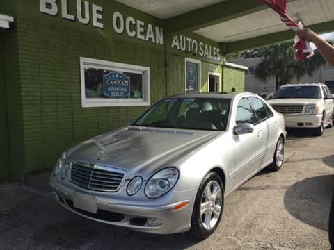 2004 Mercedes-Benz E-Class for sale at Blue Ocean Auto Sales LLC in Tampa FL