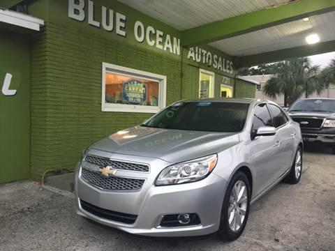 2013 Chevrolet Malibu for sale at Blue Ocean Auto Sales LLC in Tampa FL