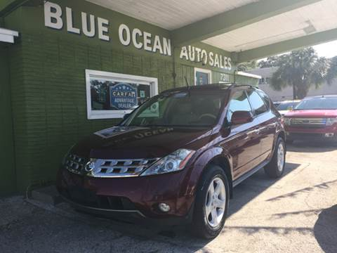 2005 Nissan Murano for sale at Blue Ocean Auto Sales LLC in Tampa FL