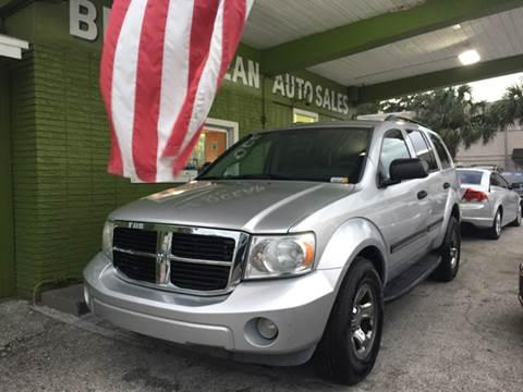 2007 Dodge Durango for sale at Blue Ocean Auto Sales LLC in Tampa FL