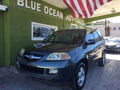 2006 Acura MDX for sale at Blue Ocean Auto Sales LLC in Tampa FL