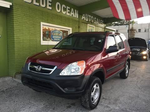 2003 Honda CR-V for sale at Blue Ocean Auto Sales LLC in Tampa FL