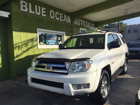 2005 Toyota 4Runner for sale at Blue Ocean Auto Sales LLC in Tampa FL