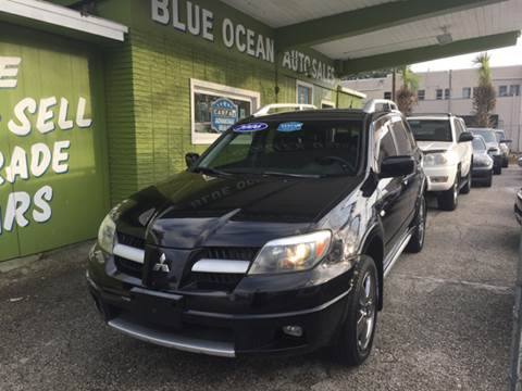 2006 Mitsubishi Outlander for sale at Blue Ocean Auto Sales LLC in Tampa FL
