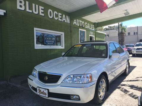 2001 Acura RL for sale at Blue Ocean Auto Sales LLC in Tampa FL