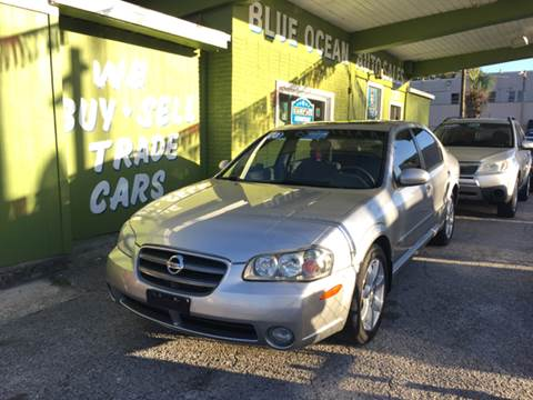 2003 Nissan Maxima for sale at Blue Ocean Auto Sales LLC in Tampa FL