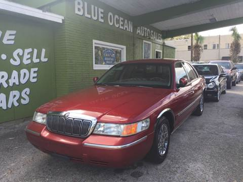 1999 Mercury Grand Marquis for sale at Blue Ocean Auto Sales LLC in Tampa FL