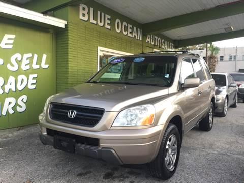 2004 Honda Pilot for sale at Blue Ocean Auto Sales LLC in Tampa FL